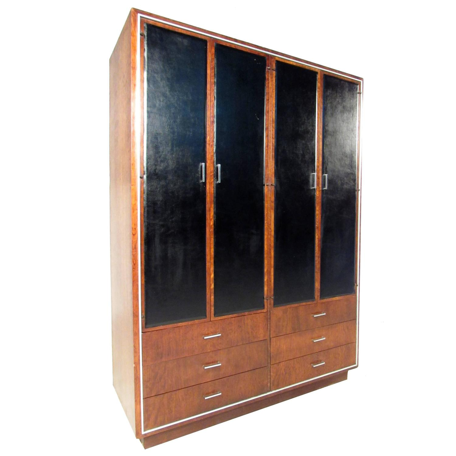 armoire modern 28 images danish modern teak armoire wardrobe cabinet at 1stdibs barossa. Black Bedroom Furniture Sets. Home Design Ideas