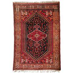 Vintage Tribal Nomadic Persian Rug