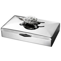 Turtle Box in Stainless Steel