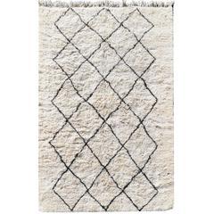 Beni Ourain Diamond Design Moroccan Rug