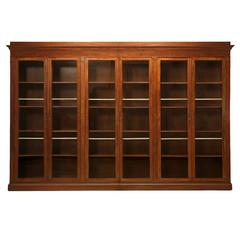 Antique French Bookcase or Display Cabinet, circa 1815-1830