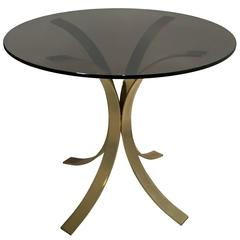 Brass Tulip Base Dining Table