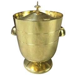 Brass Tommi Parzinger Ice Bucket