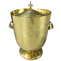 Brass Tommi Parzinger Ice Bucket