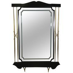 Massive Italian Modern Floor Mirror