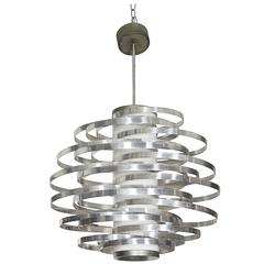 Max Sauze Cyclone Pendant Chandelier for Sciolari