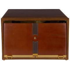 Mark Cross Leather Men's Jewelry Box