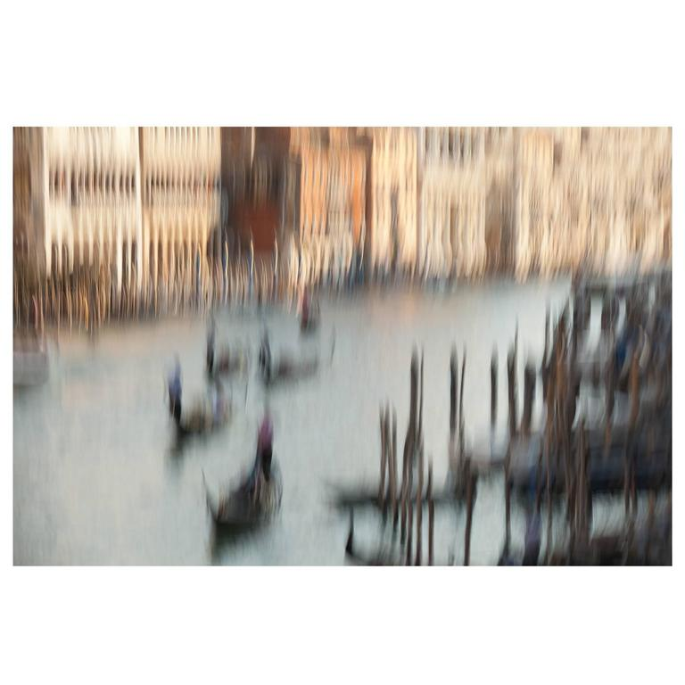 Print by Anatoly Rudakov, Homage to Canaletto, Venice, 2012