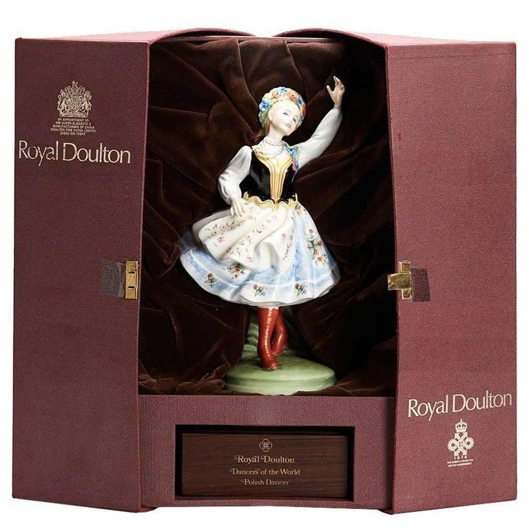 Royal Doulton Polish Dancer Figurine, 1980 For Sale