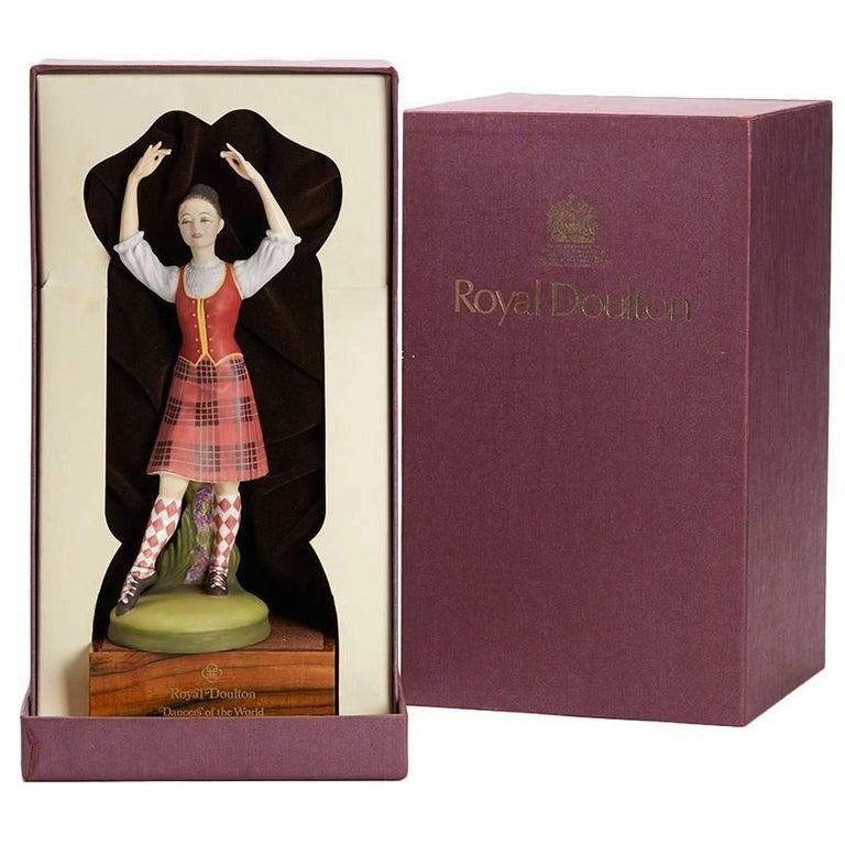 Royal Doulton Scottish Dancer Figurine, 1978 For Sale