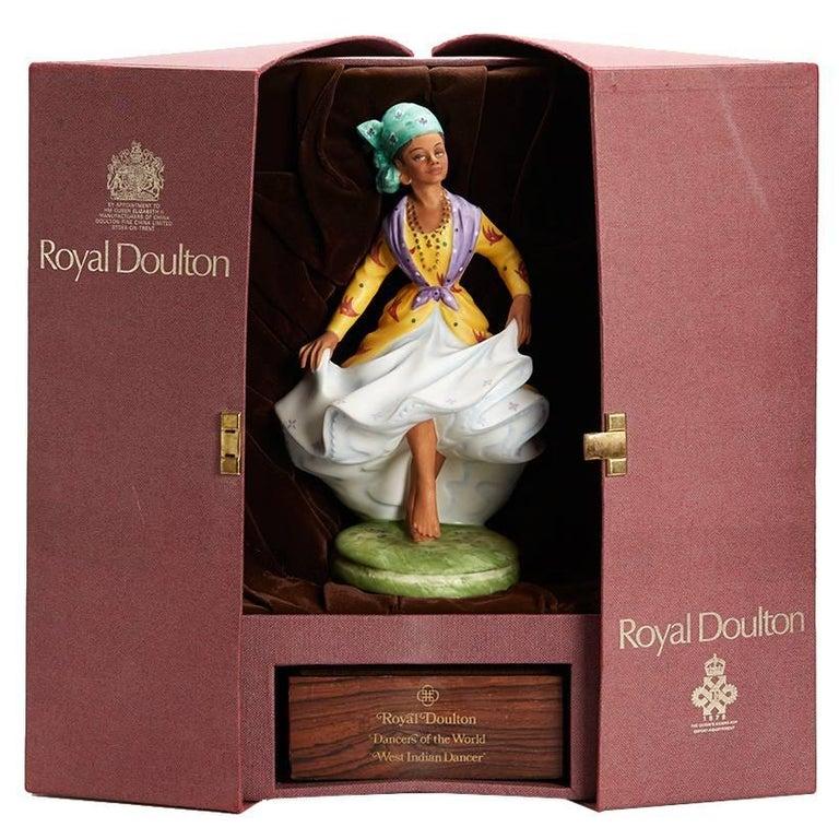 Royal Doulton West Indian Dancer Figurine, 1981 For Sale