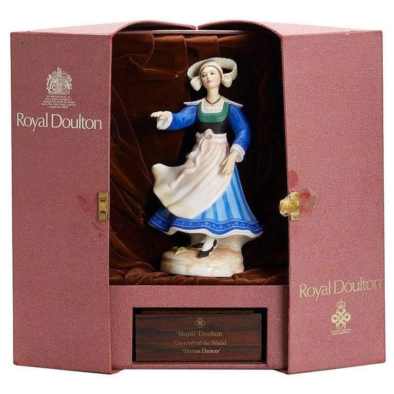 Royal Doulton Breton Dancer Figurine 1981 For Sale