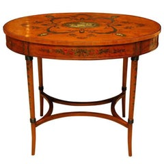 Satinwood Center Table