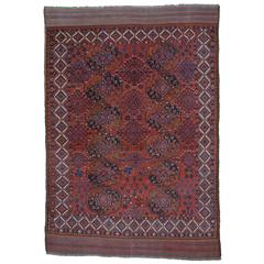 Antique Turkmen Main Carpet