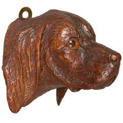 Black Forest Dog Match Stick Holder