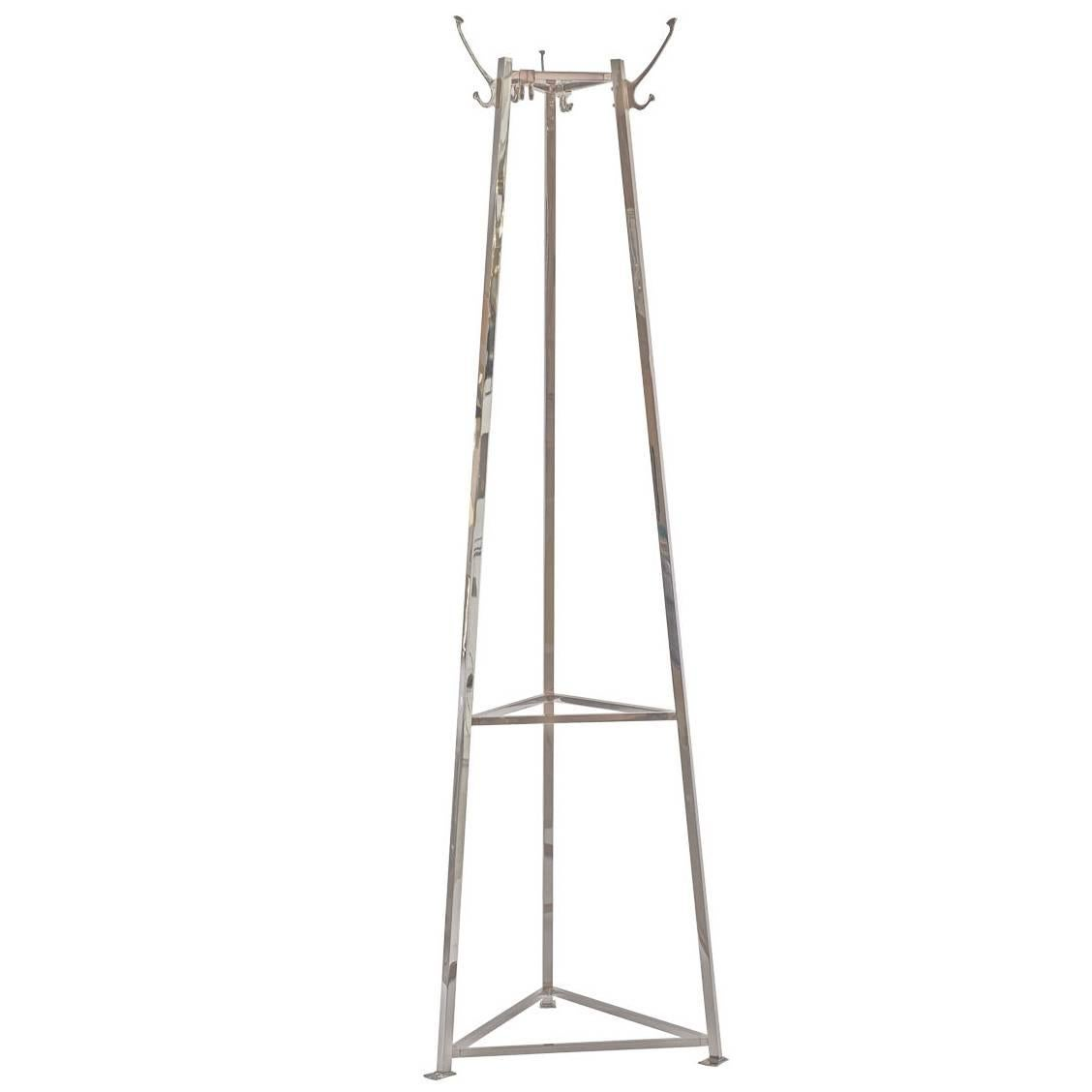 Adolf Loos very heavy Brass Coat Stand - coat rack, re-edition