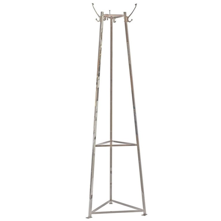 Adolf Loos Brass Coat Stand - coat rack, re-edition  For Sale
