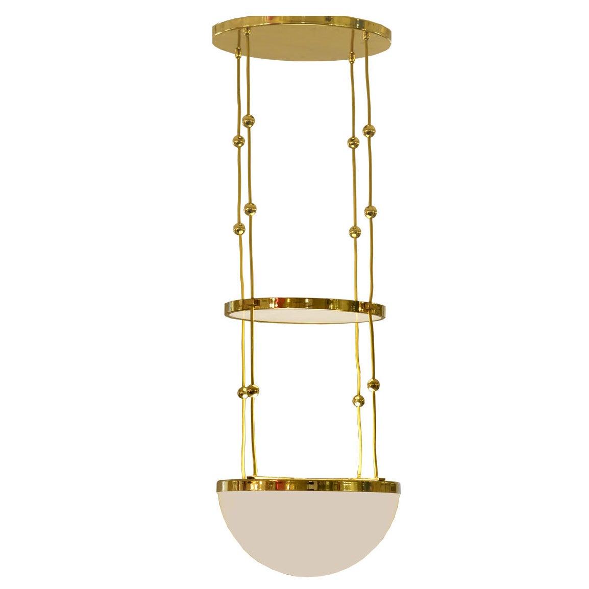 Adolf Loos Jugendstil Ceiling Lamp, Pendant Re-Edition
