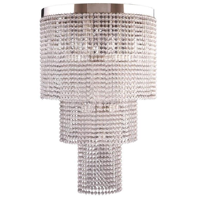 Josef Hoffmann&Wiener Werkstatte Secessionist Ceiling Lamp, Re-Edition  For Sale