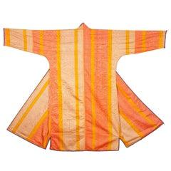 Early 20th Century Uzbek Silk Chapan / Coat