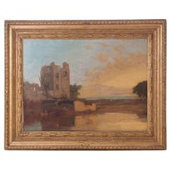 Framed Painting by English Painter John Sell Cotman