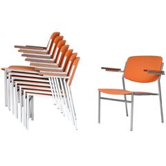 Martin Visser Style Stacking Lounge Chairs