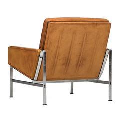 Preben Fabricius and Jørgen Kastholm Easy Chair, Model FK6720