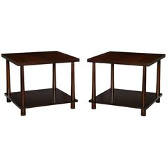 Pair of #1647 Lamp Tables by T.H. Robsjohn-Gibbings
