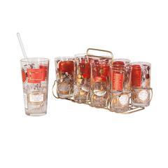 Midcentury Cocktail Recipe Glasses
