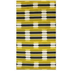 Danish Flat Weave Geometric Rug