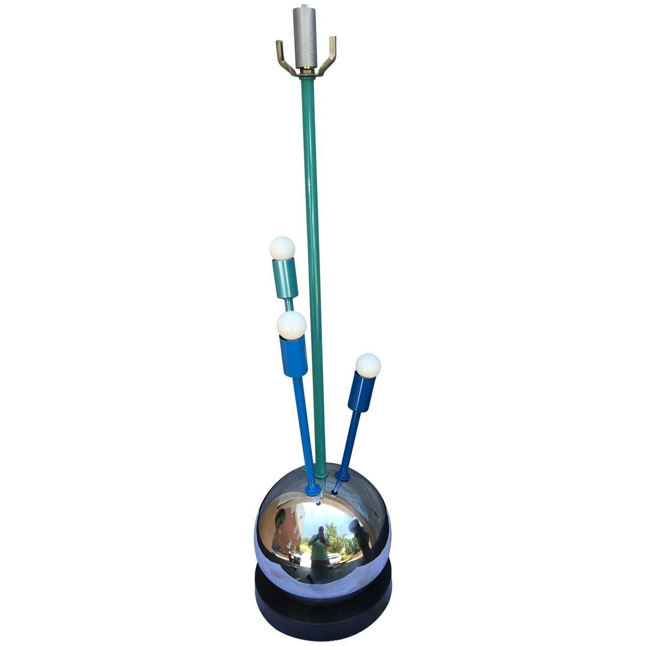 Mid-Century Modern Atomic Age Sputnik Table Lamp