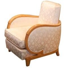 Rene Prou Single Art Deco Club Chair