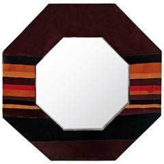 Octagonal Lacquer Mirror