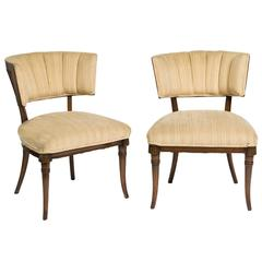Pair of 1940s Klismos Chairs