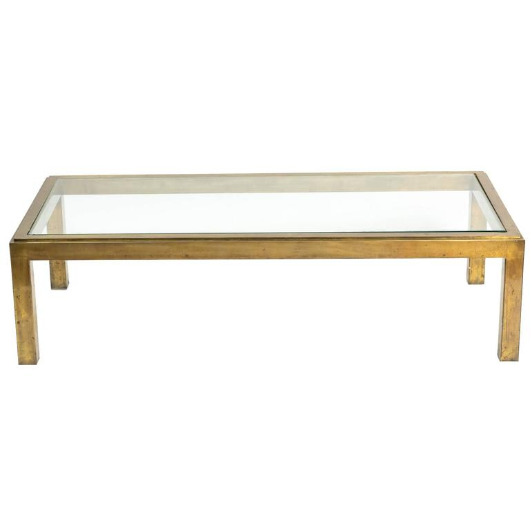 Bronze coffee table at 1stdibs Bronze coffee tables
