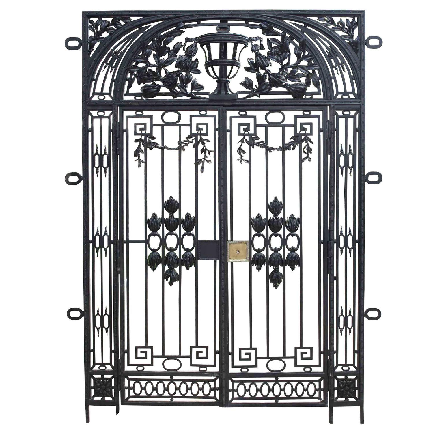 French antique wrought iron entrance way for sale at stdibs