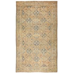 Antique Oversized Persian Kerman Rug