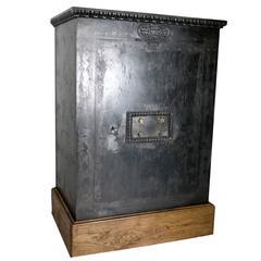 Steel Safe with Oak Base, Napoleon III