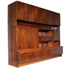 Archie Shine Robert Heritage Rosewood Wall Unit