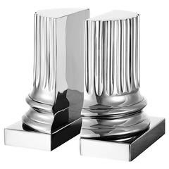 Column Bookend in Nickel