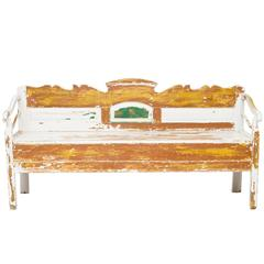 Early 19th Century Swedish Bench