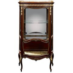 19th Century French Vitrine by Francois Linke