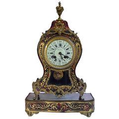Ormolu-Mounted Boulle Clock