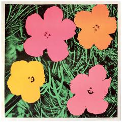 Andy Warhol Flowers, 1964 Lithograph