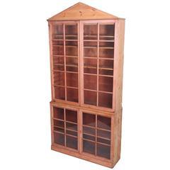 Georgian Pine Bookcase, circa 1790-1800
