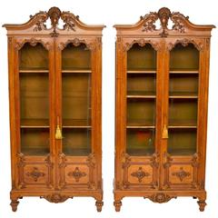 Pair of French Renaissance Cabinets