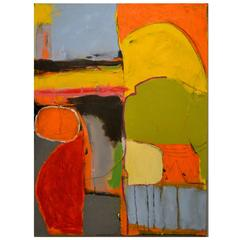 Exceptional Abstract Painting by Artist John Luckett