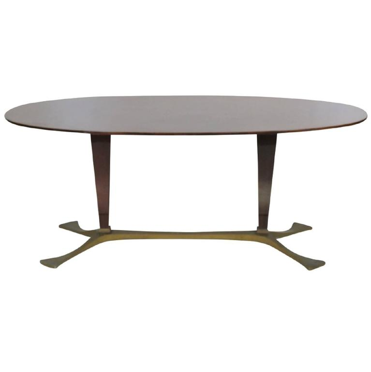 Italian Modern Oval Mahogany Dining Table For Sale at 1stdibs : VMD3001orgl from www.1stdibs.com size 767 x 768 jpeg 12kB