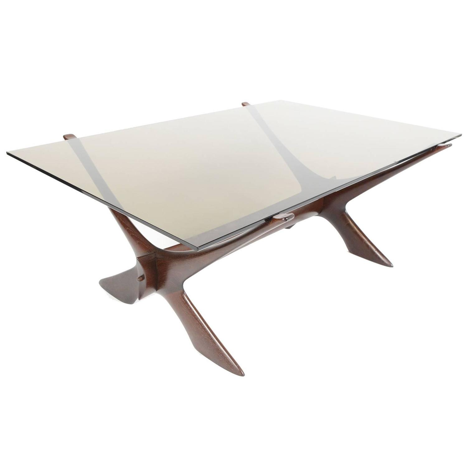 Stained Glass Coffee Table Book: Fredrik Schriever, Abeln Condor Coffee Table In Stained