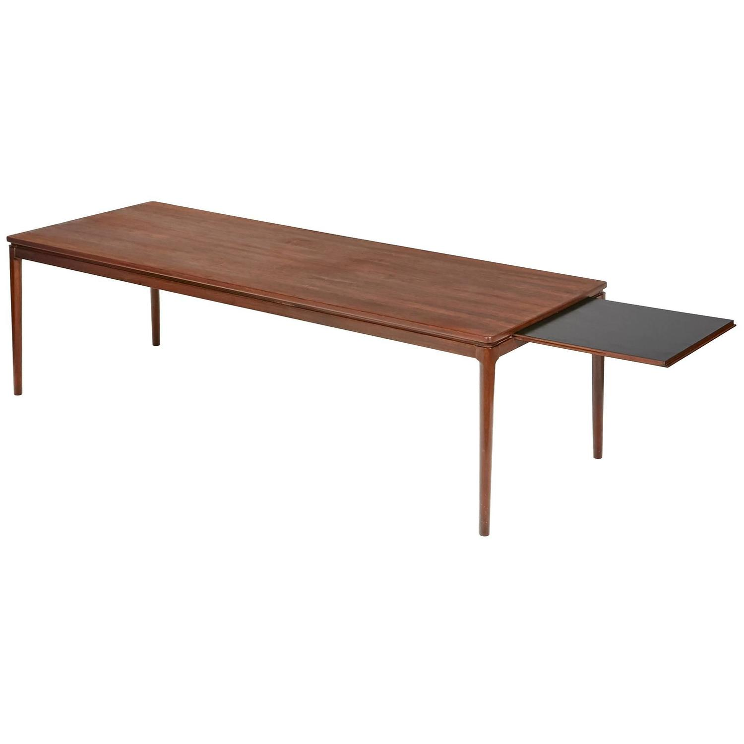 Pair of vintage danish rosewood and brushed steel side cabinets ref - 1960s Danish Rosewood Coffee Table By Anton Kildebergs M Belfabrik For Sale At 1stdibs